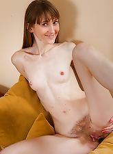 hairy divas, Gela loves her hairy pussy and high heels