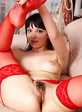 Angelica has big eyes and sweet lips , she loves to kiss and has a beautiful spot bush